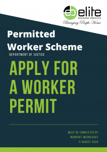 Building Industry Permitted Worker Permit